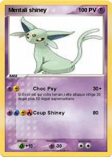 Pokemon Mentali shiney