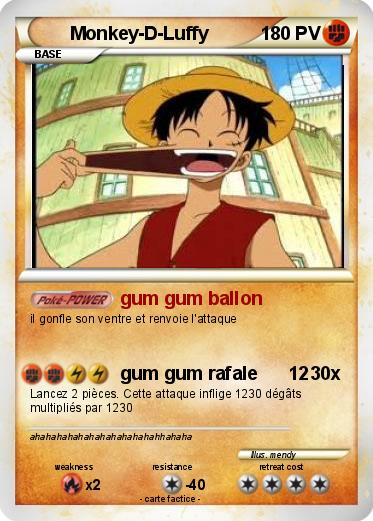 Pokemon Monkey-D-Luffy