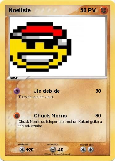 Pokemon Noeliste