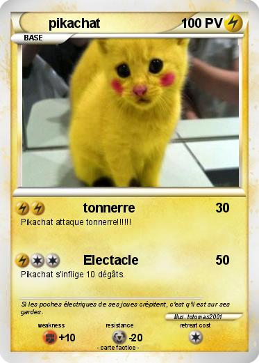 Pokemon pikachat