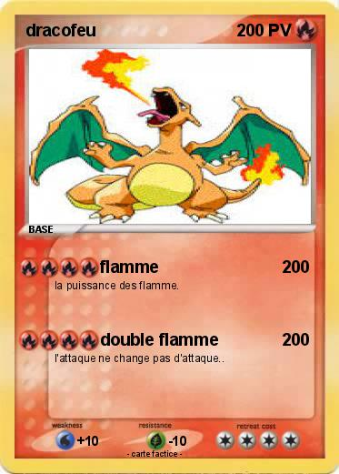 Pokemon dracofeu