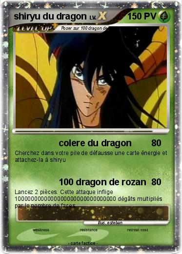 Pokemon shiryu du dragon