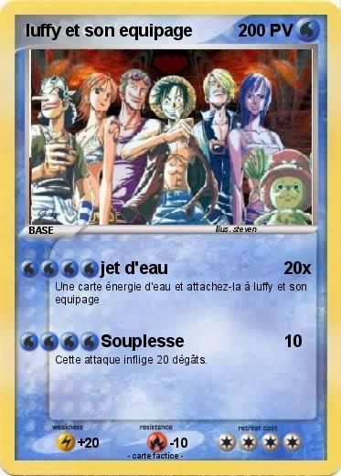 Pokemon luffy et son equipage