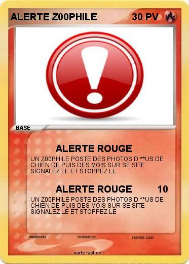 Pokemon ALERTE Z00PHILE