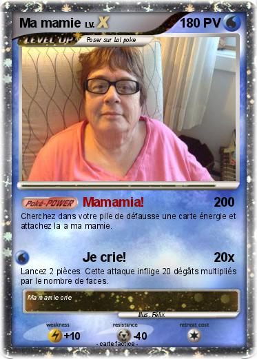 Pokemon Ma mamie