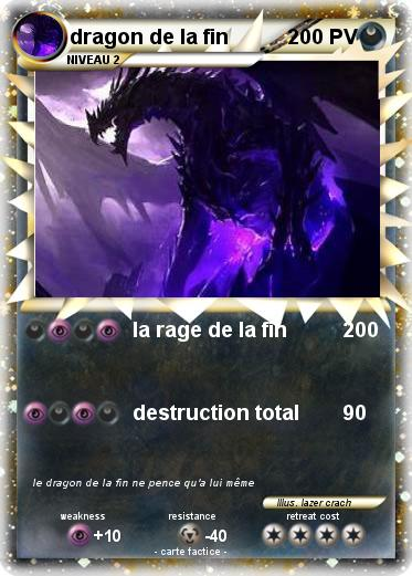 Pokemon dragon de la fin