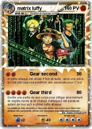 Pokemon matrix luffy