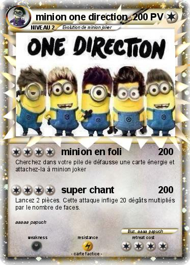 Pokemon minion one direction