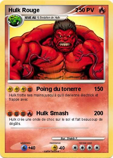 Pokemon Hulk Rouge                       2