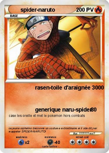 Pokemon spider-naruto