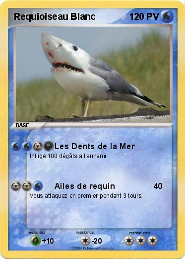 Pokemon Requioiseau Blanc
