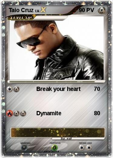 Pokemon Taio Cruz