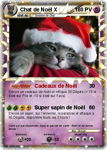 Pokemon Chat de Noël X