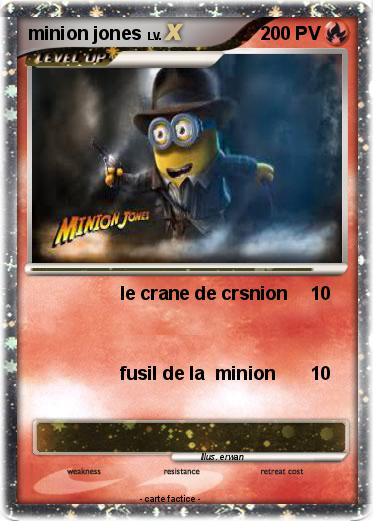 Pokemon minion jones