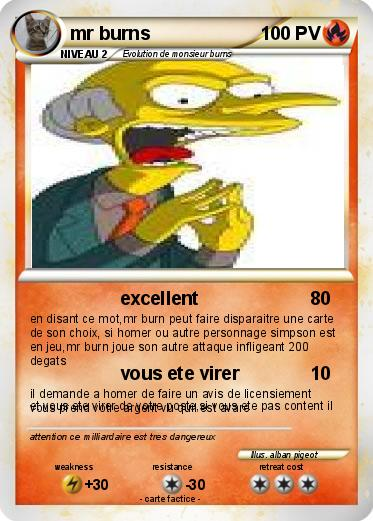 Pokemon mr burns