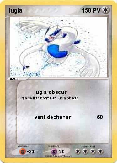 Pokemon lugia
