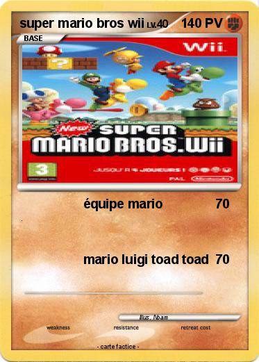 Pokemon super mario bros wii