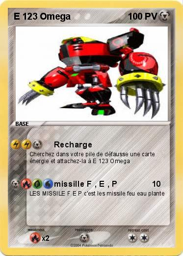Pokemon E 123 Omega