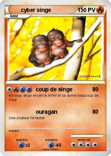 Pokemon cyber singe