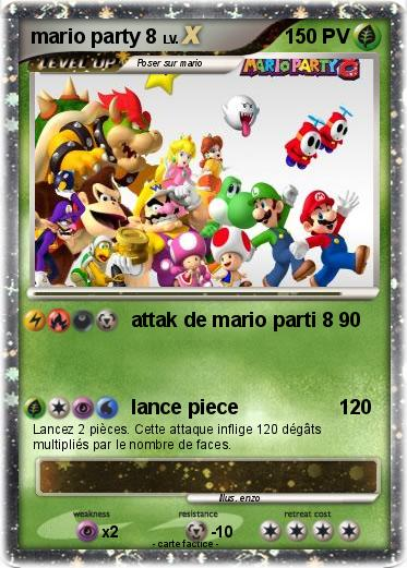 Pokemon mario party 8