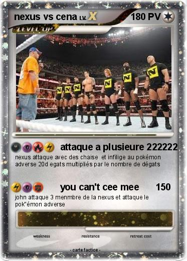 Pokemon nexus vs cena