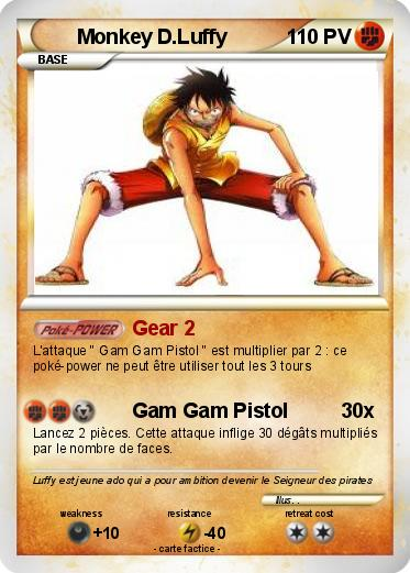 Pokemon Monkey D.Luffy