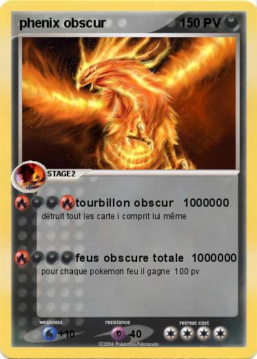 Pokemon phenix obscur