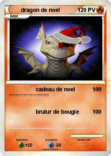 Pokemon dragon de noel