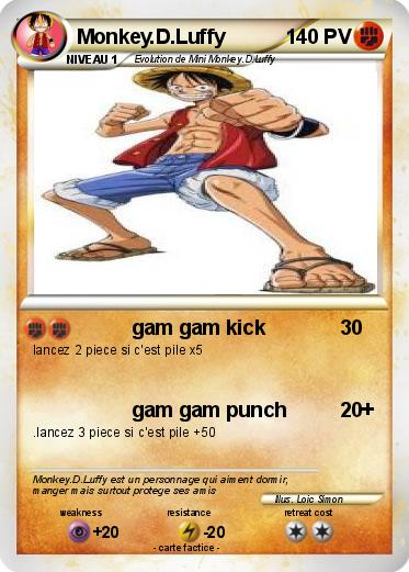 Pokemon Monkey.D.Luffy