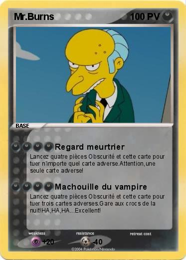 Pokemon Mr.Burns