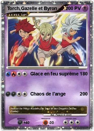 Pokemon Torch,Gazelle et Byron