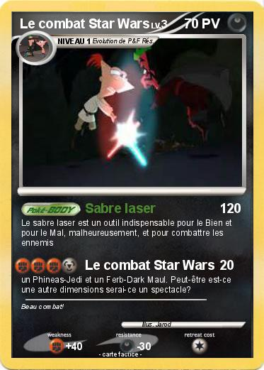 Pokemon Le combat Star Wars