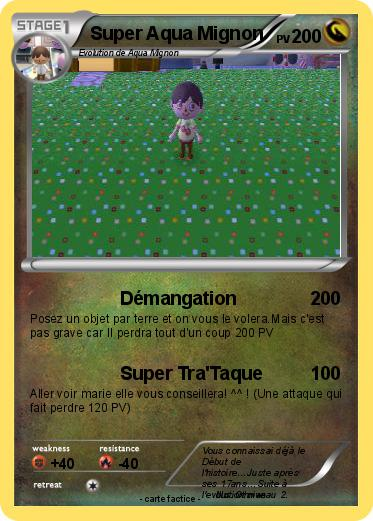 Pokemon Super Aqua Mignon