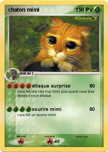 Pokemon chaton mimi