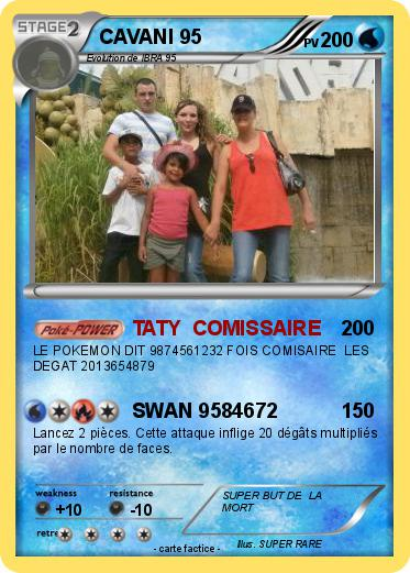 Pokemon CAVANI 95