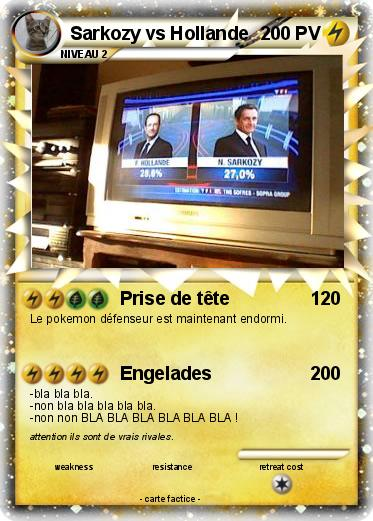 Pokemon Sarkozy vs Hollande