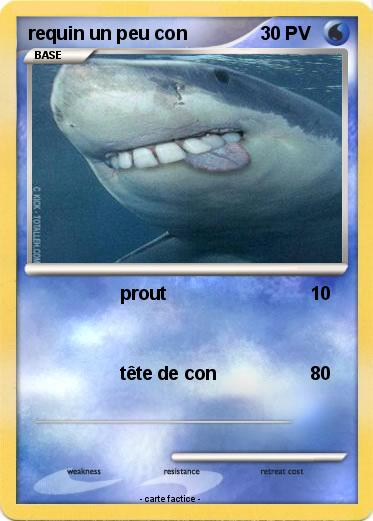 Pokemon requin un peu con