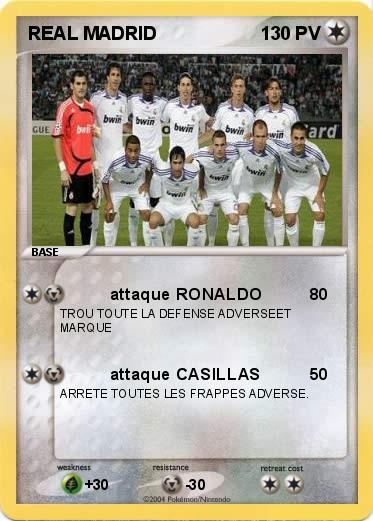 Pokemon REAL MADRID