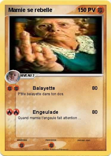 Pokemon Mamie se rebelle