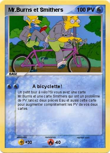 Pokemon Mr.Burns et Smithers