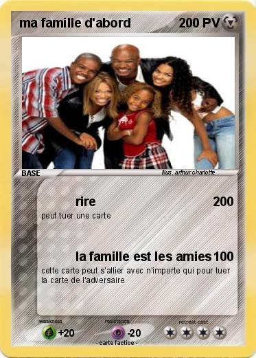 Pokemon ma famille d'abord