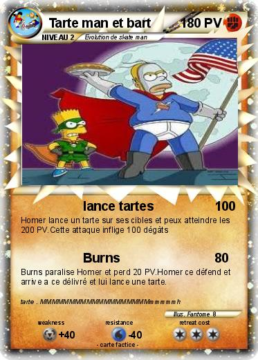 Pokemon Tarte man et bart