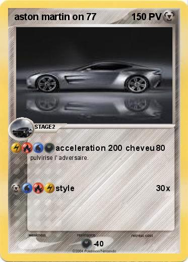 Pokemon aston martin on 77