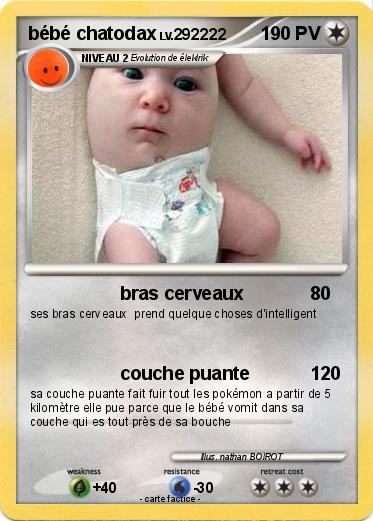 Pokemon bébé chatodax