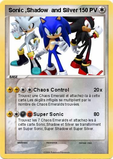 Pokemon Sonic ,Shadow  and Silver