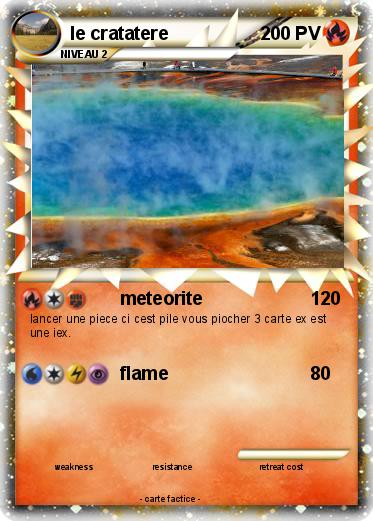 Pokemon le cratatere