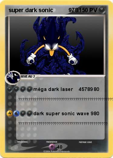 Pokemon super dark sonic          978