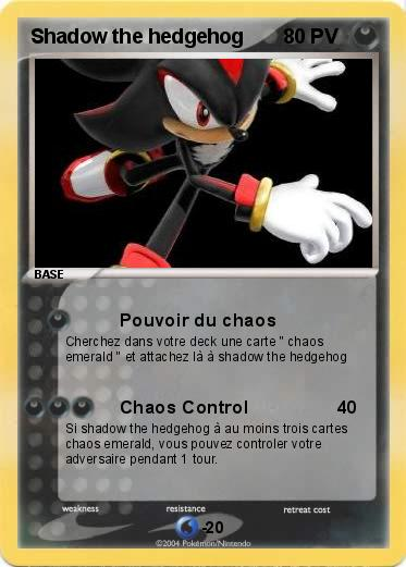 Pokemon Shadow the hedgehog