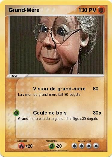 Pokemon Grand-Mére