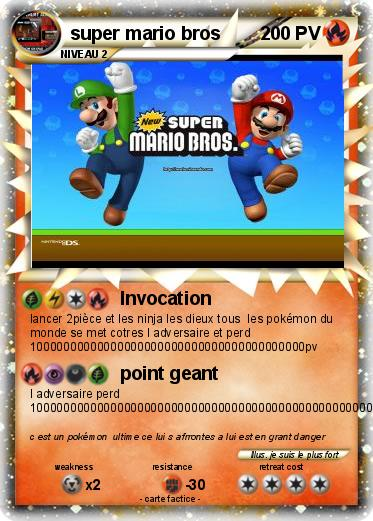Pokemon super mario bros